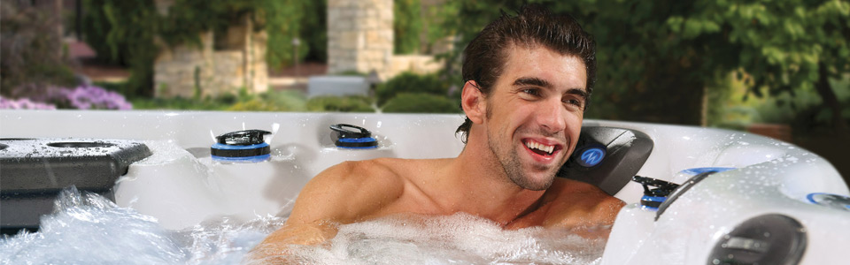 Featured Michael Phelps Legend Series Hot Tub